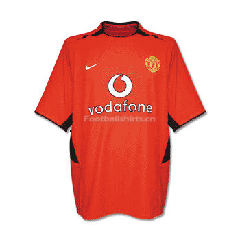 Manchester United 02-03 Home Retro Soccer Jersey
