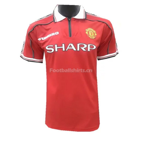 Manchester United 98-99 Home Retro Soccer Jersey