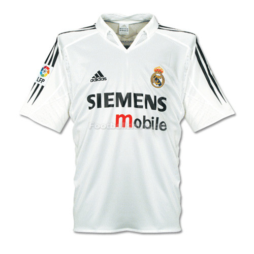 Real Madrid 04-05 Home Retro Soccer Jersey