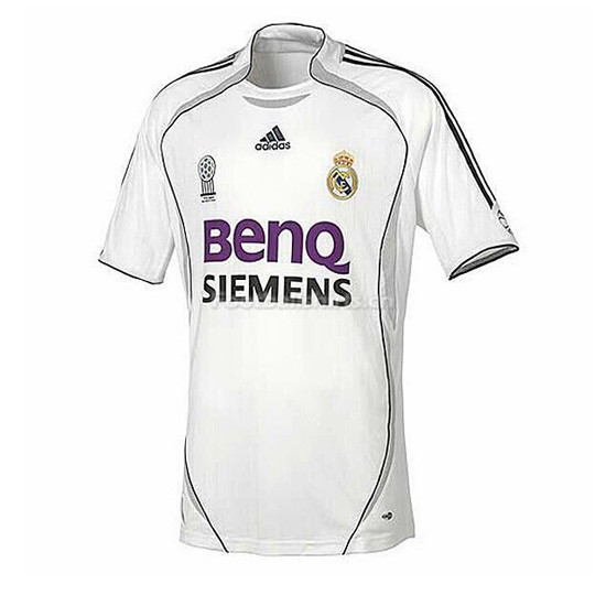 Real Madrid 06-07 Home Retro Soccer Jersey