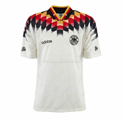 West Germany 1994 Home Retro Soccer Jersey