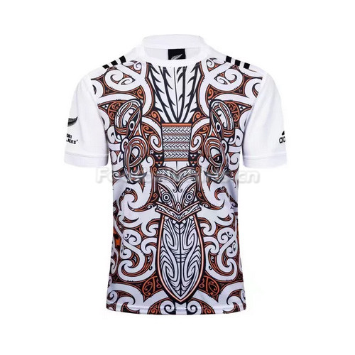 2017 Men's White Rugby Jersey