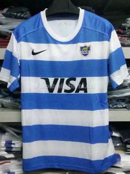Argentina 2017 Men's Home Rugby Jersey