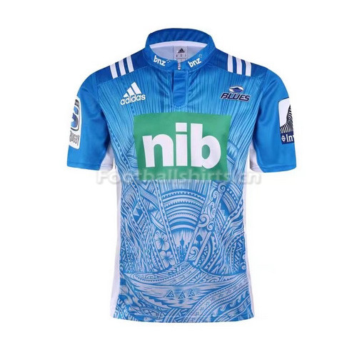 Blues Super 2017 Mens Rugby Jersey - 001