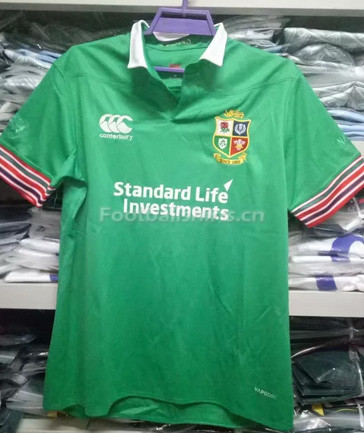 British and Irish Lions 2017 Men's Green Rugby Jersey