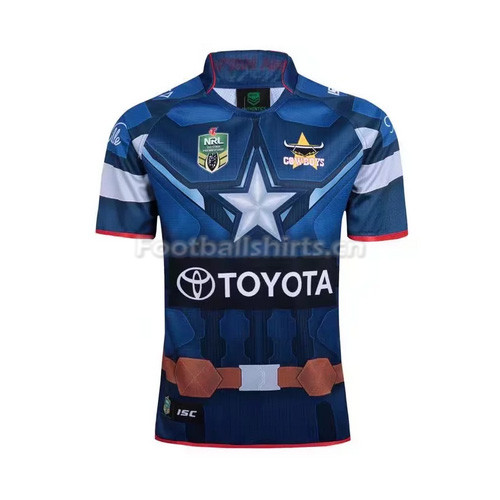 Captain America 2017 Men's Rugby Jersey