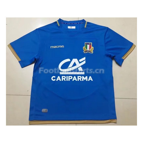 Italy 2017 Men's Home Rugby Jersey