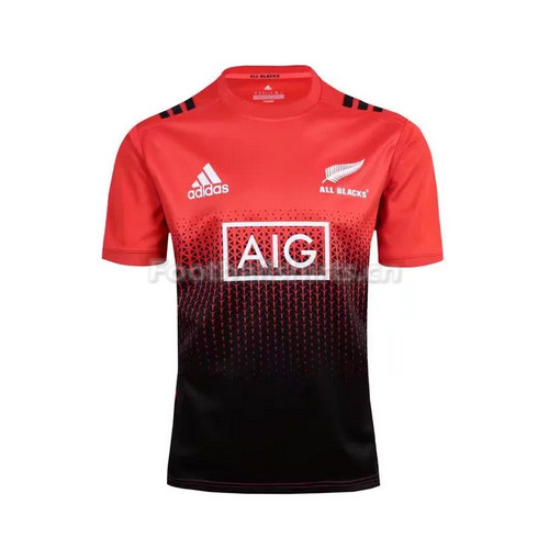 New Zealand 2017 Men's Red Rugby Jersey