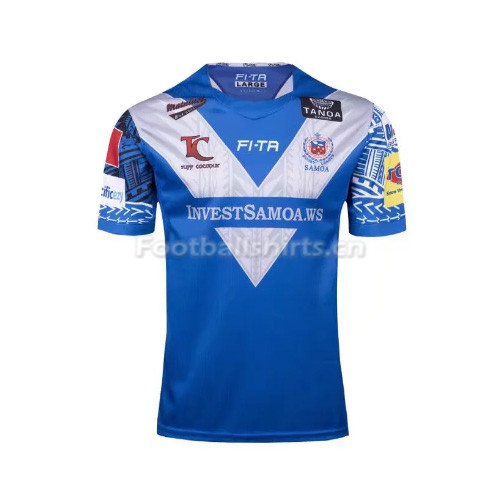 Samoa Men's Home Rugby Jersey 2017/18