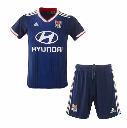 Olympique Lyonnais Away Soccer Kits Children 2019/20