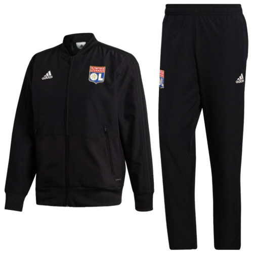 Olympique Lyonnais Training Jacket Suits Black 2018/19