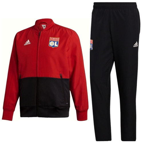Olympique Lyonnais Training Jacket Suits Red Black 2019/20
