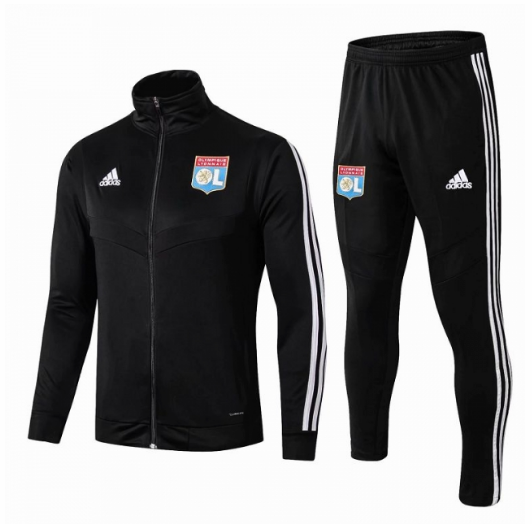Olympique Lyonnais Training Jacket Suits Black 2019/20