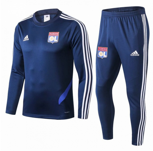 Olympique Lyonnais Training Top Suits Blue 2019/20