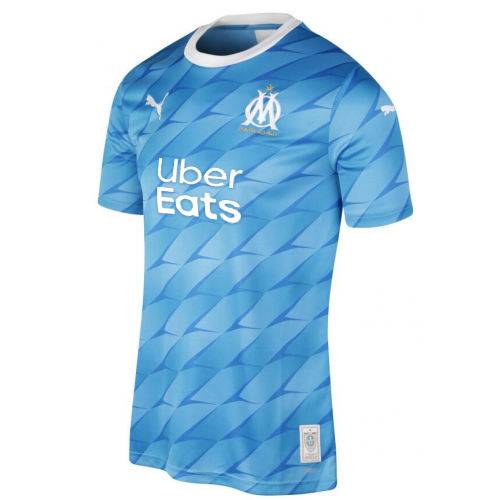 Olympique de Marseille Away Soccer Jersey With Sponsor 2019/20