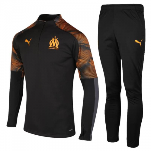 Olympique Marseille Training Top Suits Black 2019/20