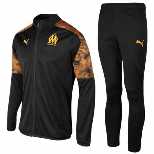 Olympique Marseille Training Jacket Suits Black 2019/20