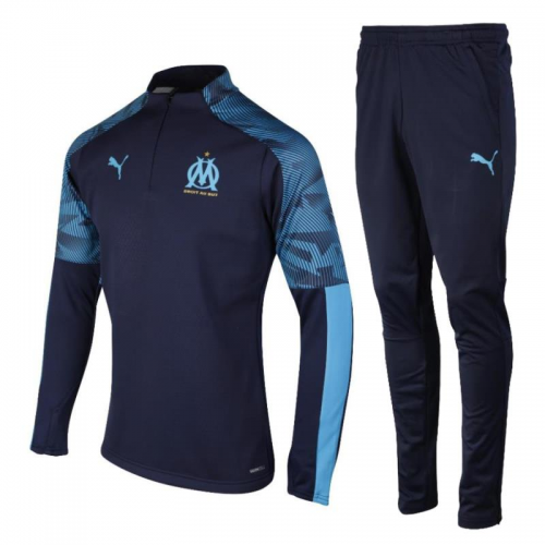 Olympique Marseille Training Top Suits Blue 2019/20