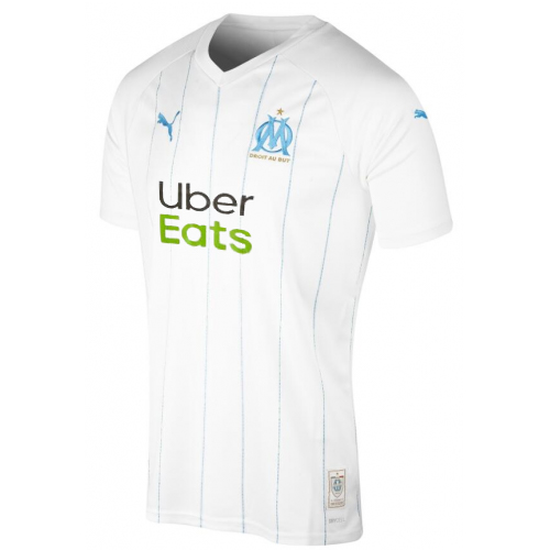 Olympique de Marseille Home Soccer Jersey With Sponsor 2019/20