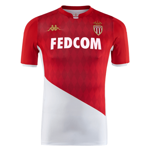 AS Monaco Home Soccer Jersey 2019/20