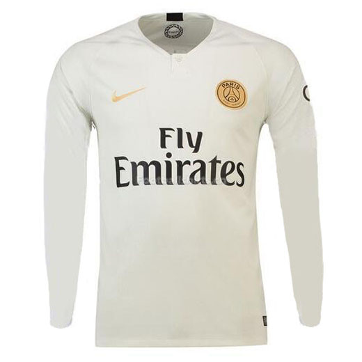 free shipping 84f85 55a04 PSG Away Long Sleeve Soccer Jersey 2018/19 [SOCCER6164 ...