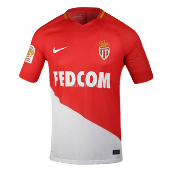 Match Version AS Monaco Home Soccer Jersey 2017/18