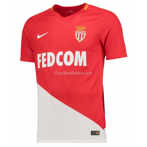 AS Monaco Home Soccer Jersey 2017/18