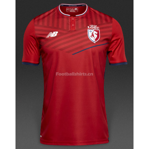 Lille OSC Home Soccer Jersey 2017/18