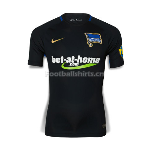 Hertha BSC Away Soccer Jersey 2017/18