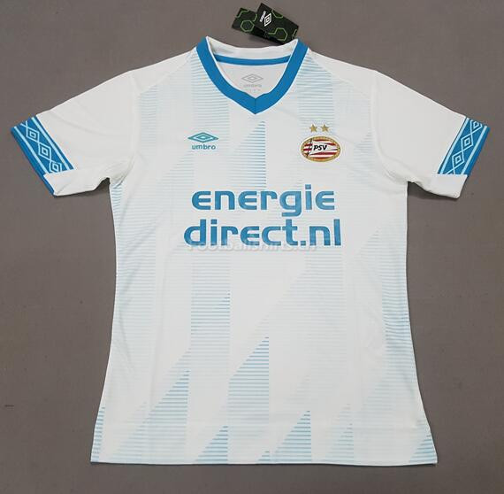 PSV Eindhoven Away White Soccer Jersey 2018/19