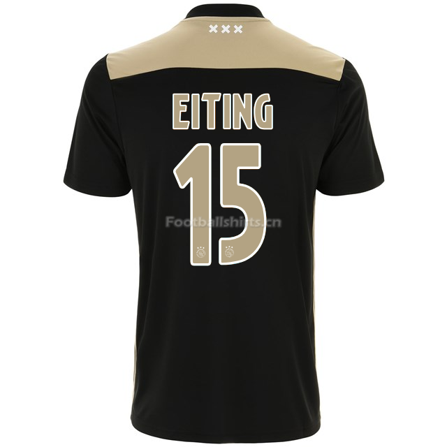 Ajax carel eiting 15 Away Soccer Jersey 2018/19