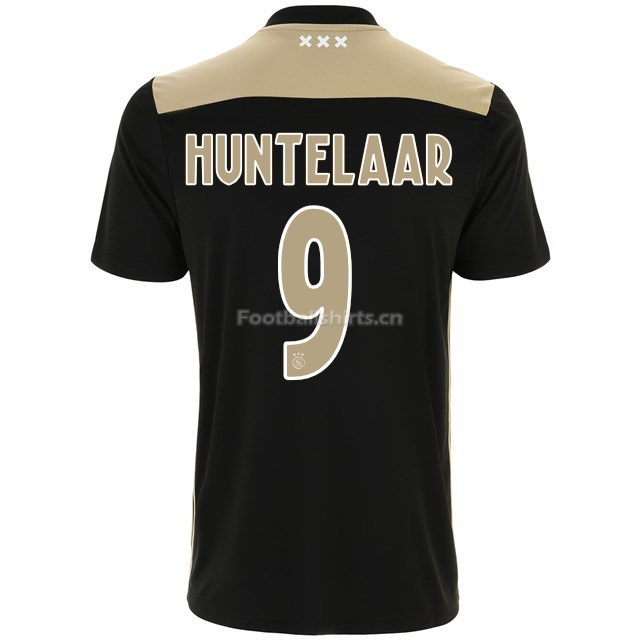 Ajax klaas jan huntelaar 9 Away Soccer Jersey 2018/19