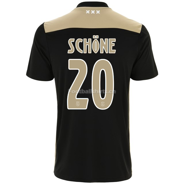Ajax lasse schone 20 Away Soccer Jersey 2018/19