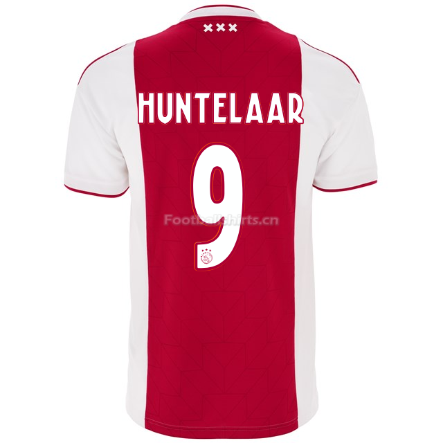 Ajax klaas jan huntelaar 9 Home Soccer Jersey 2018/19