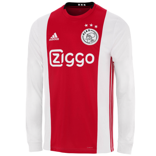 Ajax Home Soccer Jersey Long Sleeve 2019/20
