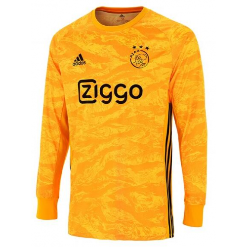 Ajax Goalkeeper Soccer Jersey Long Sleeve Yellow 2019/20