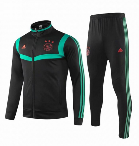 Ajax Training Jacket Suits Black Green 2019/20
