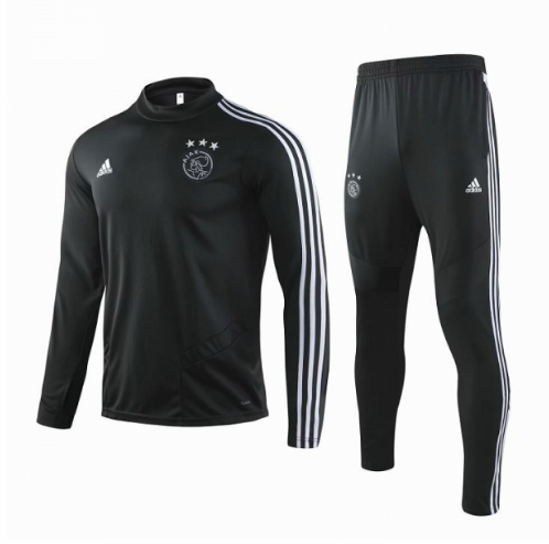 Ajax Training Top Suits Black White 2019/20