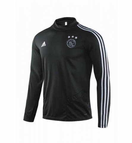 Ajax Training Top Black White 2019/20
