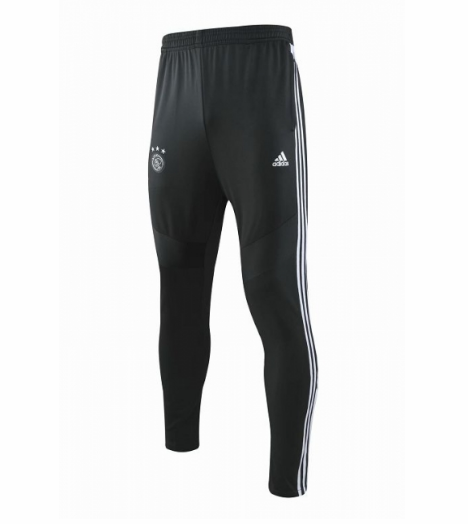 Ajax Training Pants Black White 2019/20