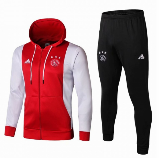 Ajax Training Hoody Jacket Suits Red 2019/20