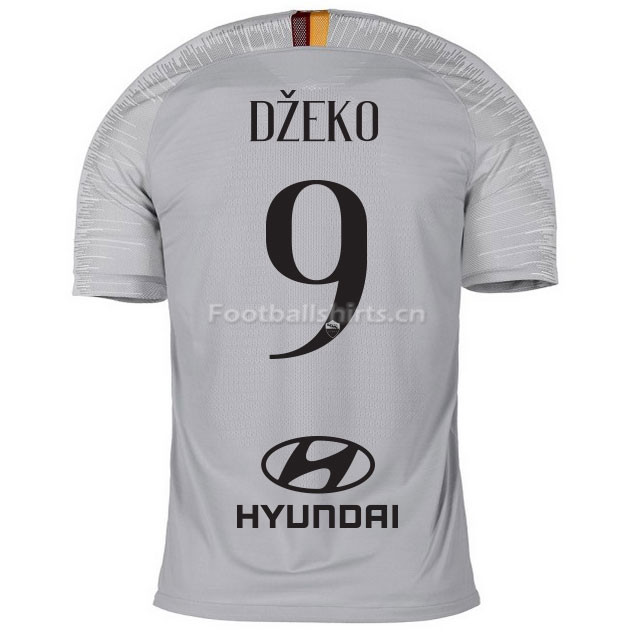 AS Roma DZEKO 9 Away Soccer Jersey 2018/19