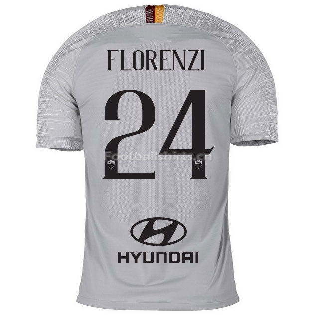 AS Roma FLORENZI 24 Away Soccer Jersey 2018/19