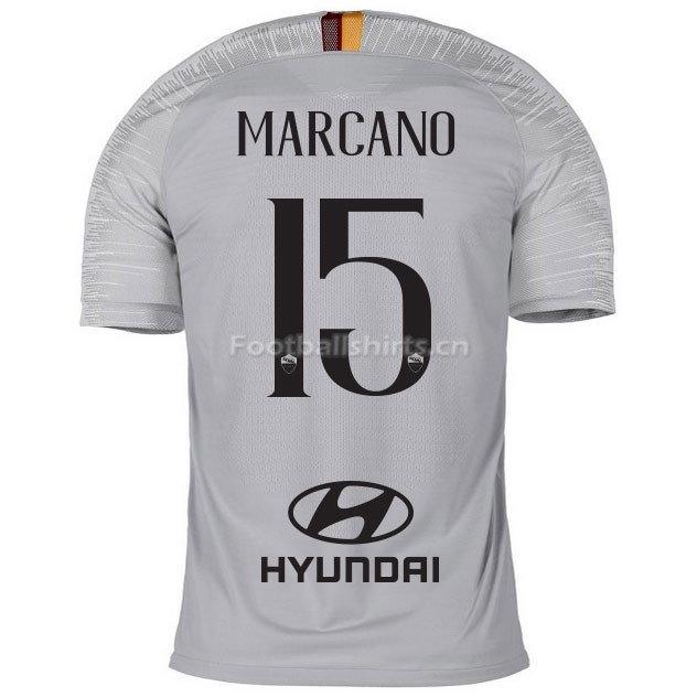 AS Roma MARCANO 15 Away Soccer Jersey 2018/19