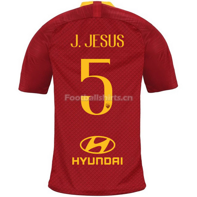 AS Roma J. JESUS 5 Home Soccer Jersey 2018/19