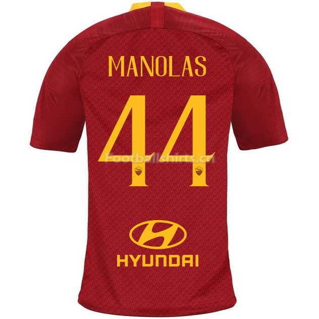 AS Roma MANOLAS 44 Home Soccer Jersey 2018/19
