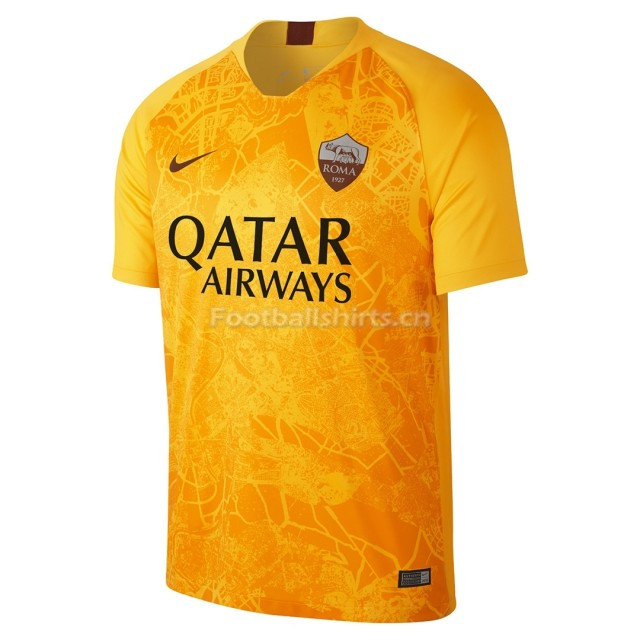 AS Roma Third Soccer Jersey 2018/19