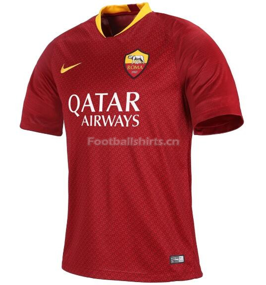 AS Roma Home Soccer Jersey 2018/19