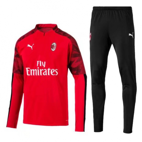 AC Milan Training Top Suits Red 2019/20