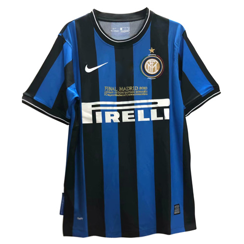 Retro Inter Milan Home Soccer Jersey UCL Final 09/10